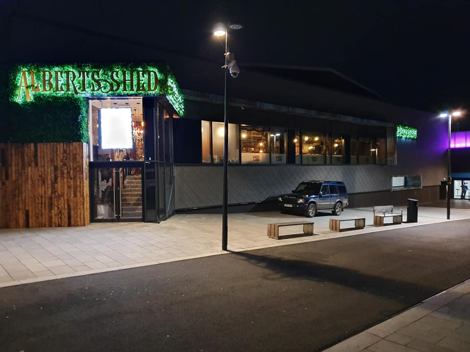 Albert's Shed Southwater LED Lighting Install